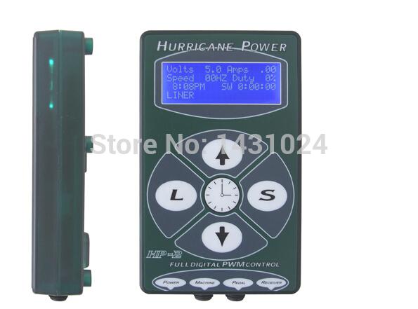 HP-2 Hurricane Tattoo Power Professional Tattoo Supply Tattoo Digital Dual Power Supply Black Tattoo power unit Fountain Source(China (Mainland))