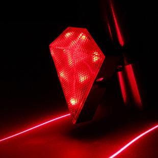 Fabricantes que vendem recarregável bicicleta laser taillight segurança aviso lâmpada(China (Mainland))
