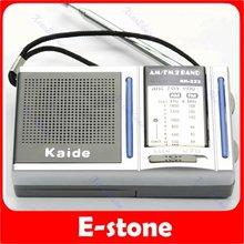 C18+Free shipping! High-quality! Mini Portable AM FM Pocket Radio 2 Bands Receiver DC 3V