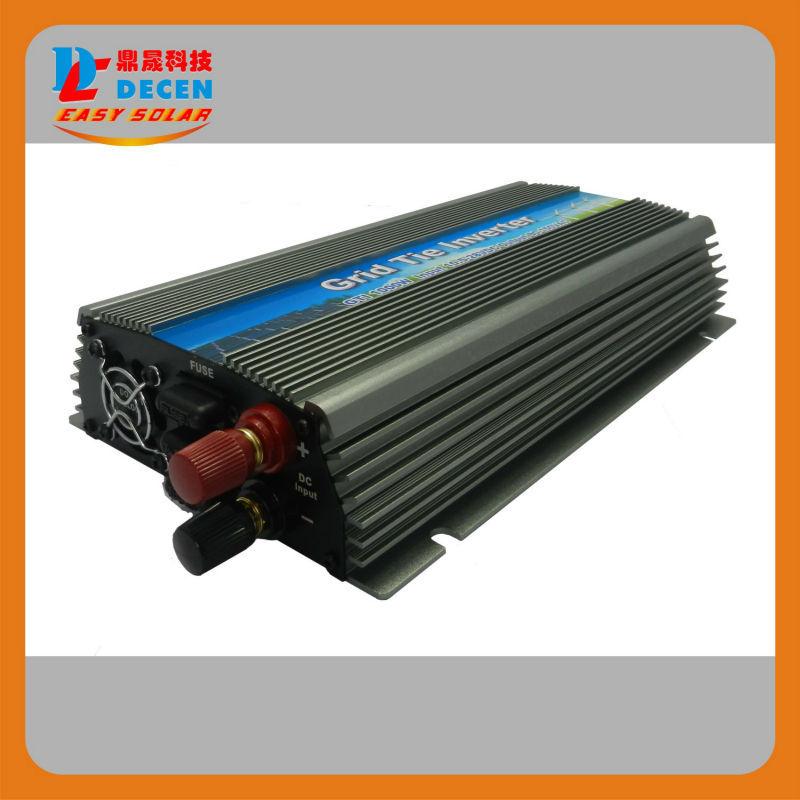 DECEN@ 20-45V 4PCS 1000W Pure Sine Wave Solar Grid Tie MPPT Inverter, Output 190-260V.50hz/60hz, For Home Alternative Energy(China (Mainland))