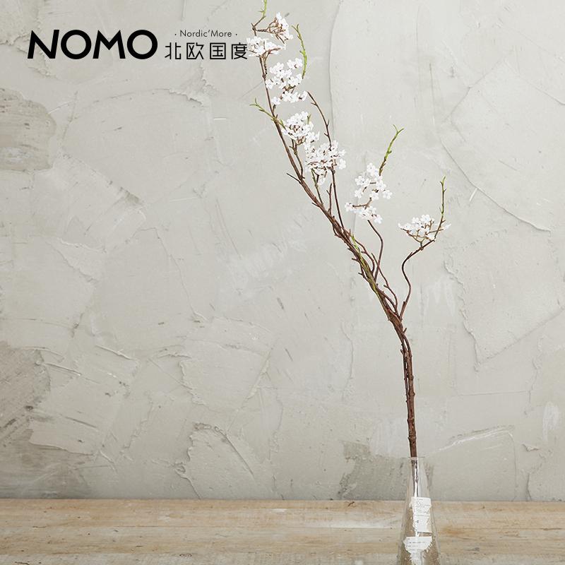 Nomo simplicidade rural Nordic simulação simulação floral arranjos de flores de seda colocado americano selvagem floral ramo de árvore(China (Mainland))