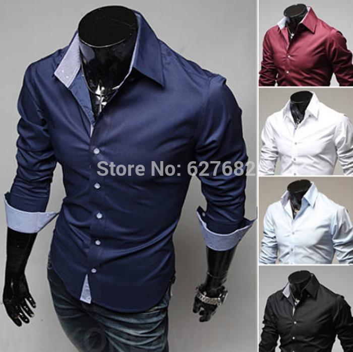 все цены на Мужская повседневная рубашка Chiese Brand ,  Slim Fit Dropshipping m/xxxl YYUCEM13 онлайн