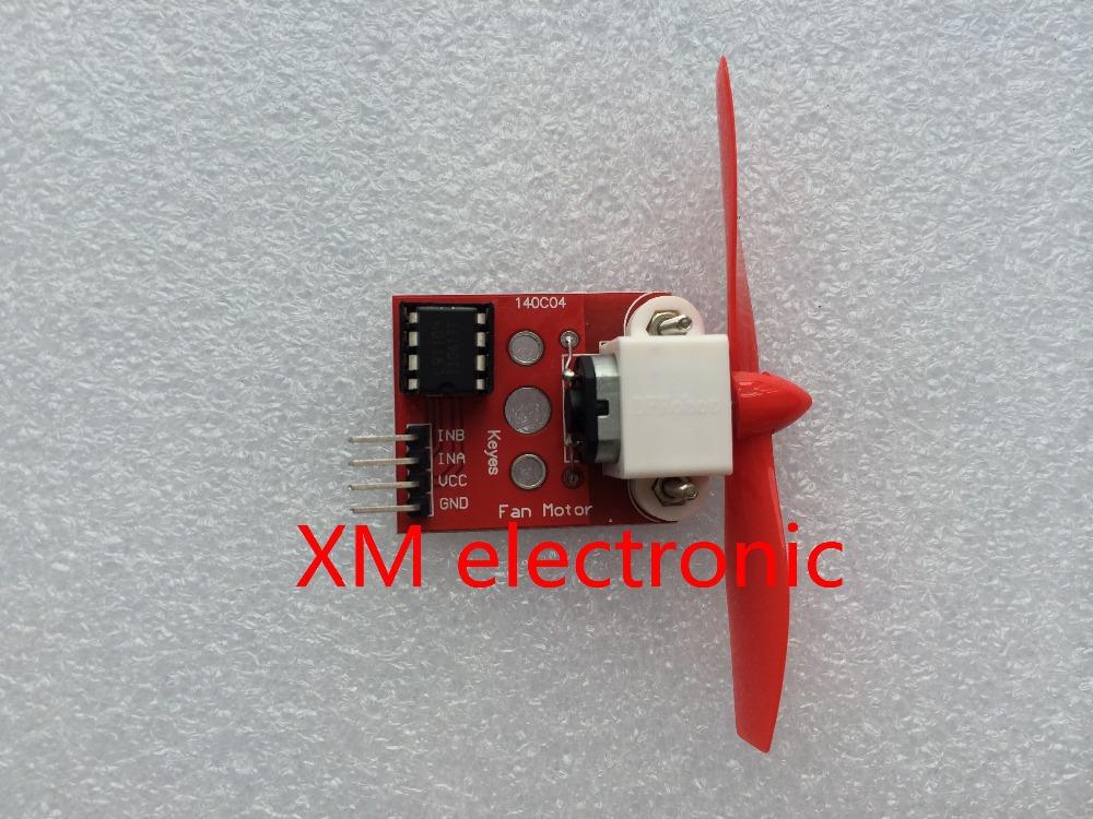 Free shipping L9110 Fan Module for Arduino Robot Design and Development Control 5PCS(China (Mainland))