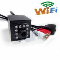 720P Mini IR Camera Indoor 940nm Ir Led Wireless Ip Camera Support Pickup WIFI Camera for 1.0 Megapixe HI3518E