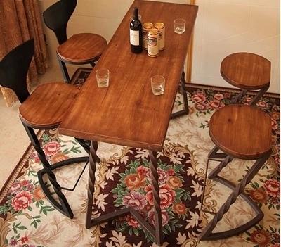 Banqueta Bar cadeiras cadeiras de madeira forjado barra de ferro preside fazer o velho Bar retro americano de recepção cadeiras de fezes(China (Mainland))