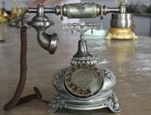 House villa decoration antique old fashion phone retro corded phone telefoner communication equipment business gift dect
