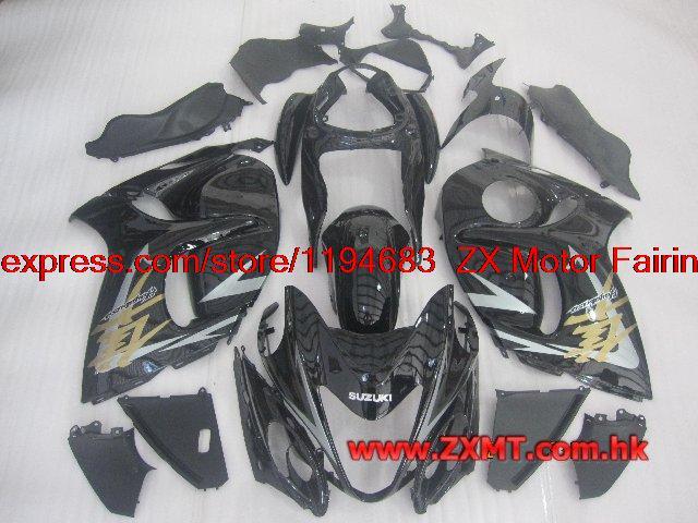 INJECTION Fairing Kits GSX R1300 2011 Fairings HAYABUSA Motorcycle Fairing 2009 08 - 14(China (Mainland))