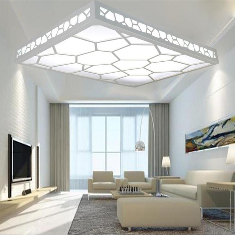 Led plafonniers chambre moderne minimaliste salon