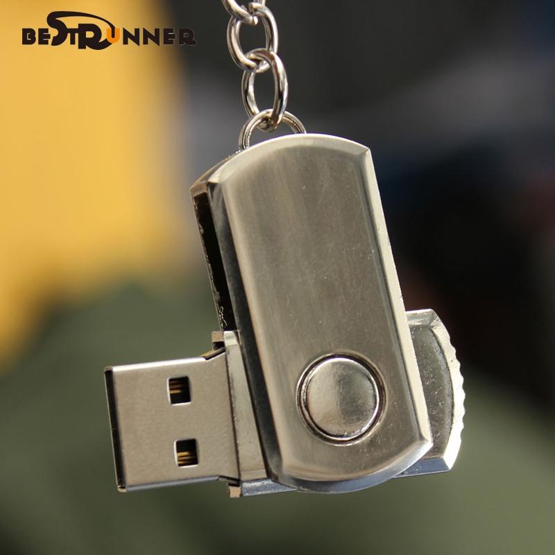 Bestrunner USB Flash Drive USB 2.0 Key Chain Pen Drive 1GB/2GB/4GB/8GB/16GB/32GB usb stick Stock Memory Stick(China (Mainland))