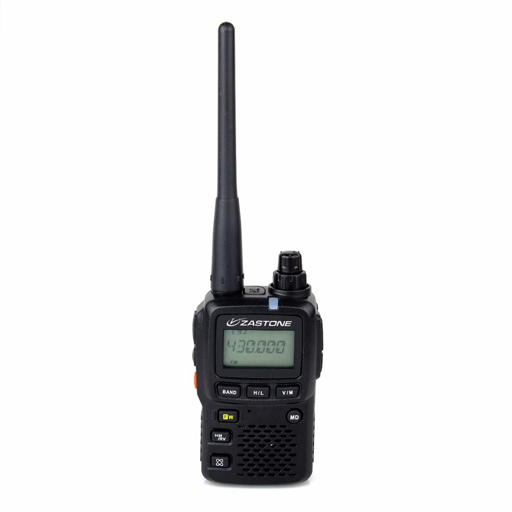 Black ZT-2R+ Walkie Talkie 3W VHF140-174MHz UHF 420-470MHz Mini Dual Band Handheld Transceiver Portable Radio A7157A(China (Mainland))
