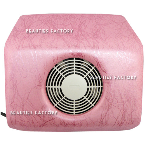 Beauties Factory Nail Art Dust Suction Collector & 2 Bags (Pink Veins Pattern)(Hong Kong)