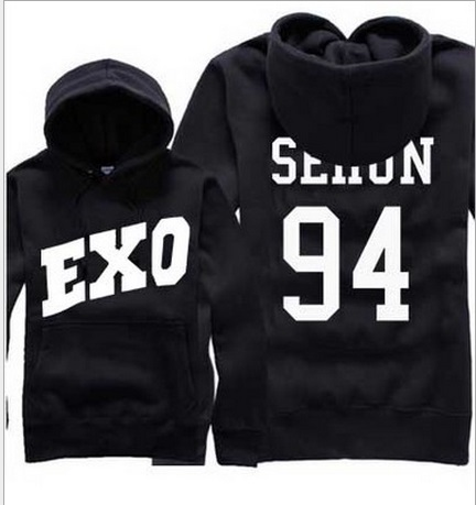Женские толстовки и Кофты Exo hoodie EXO KPOP 12 KPOP KPOP exo kpop latest sing for you album postcards 2017 new boxed set 121 cards poster k pop exo photo lomo souvenir stickers postal