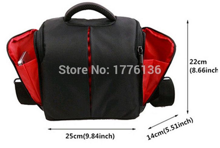 Camera Case Bag for Canon DSLR SX60 SX50 650D 700D 100D 500D 550D 600D 1100D 1200D 60D 70D 6D T5 digital camera bag waterproof(China (Mainland))