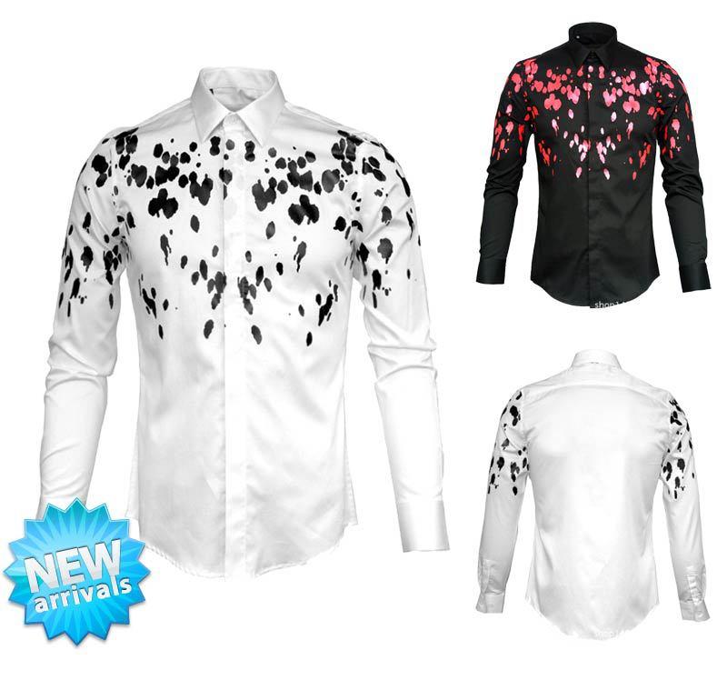 все цены на Мужская повседневная рубашка YD 2015 Slim Fit Camisas 3Xl YD-008 онлайн