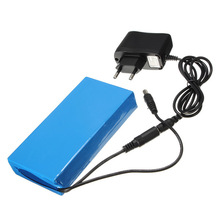 2015 New Super Rechargeable Protable Lithium ion Battery EU Plug DC12V 9800mAh Mobile Power wireless camera