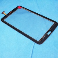 New touch screen digitizer for Samsung TAB3 7'  P3200 P3210 T210 T211 tablet touch panel Sensor Glass Lens black brown  white