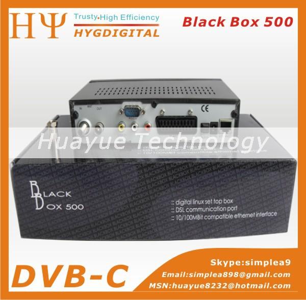 1pc 500-C Cable TV Blackbox dm500C DVB C Digital Cable satellite Receiver(China (Mainland))