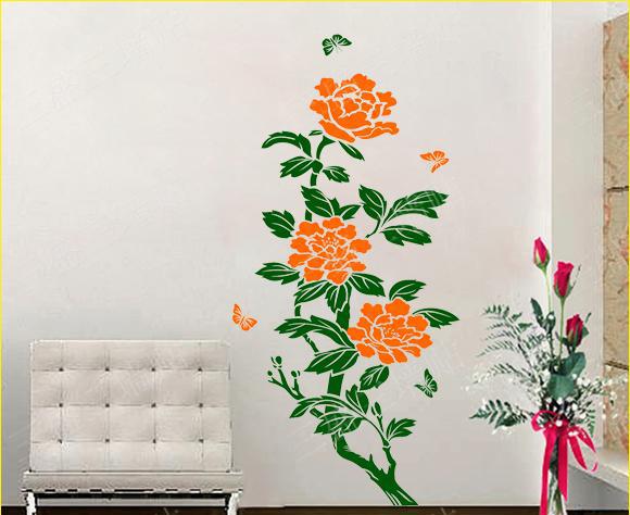 Wandbilder wohnzimmer blumen : romantische wandbilder für Wohnzimmer ...