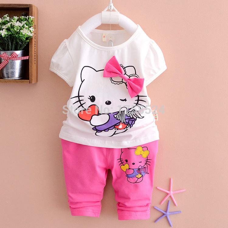 Комплект одежды для девочек New Without Brand 2015 KT t + 2501 шорты для девочек brand new 2015
