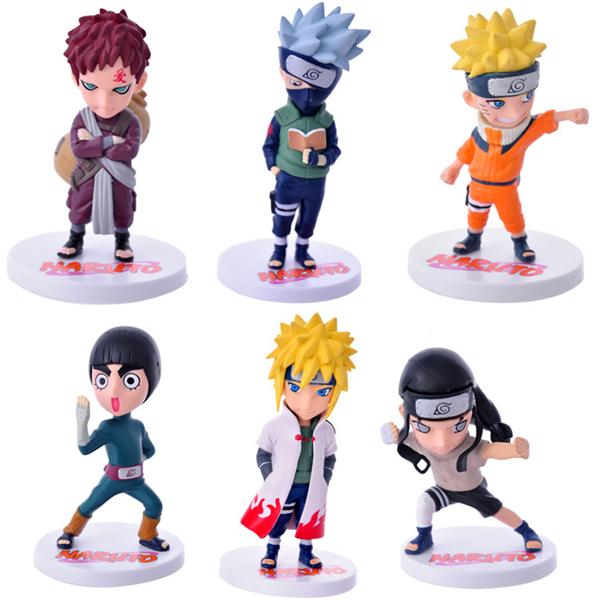 6pcs/set Anime Naruto Action Figure Collection PVC Naruto Action Figures Toys, Naruto Gaara Action Figure Toys Baby Toys(China (Mainland))