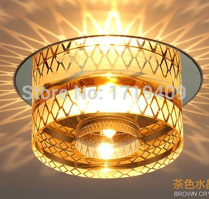 Luminarias Fashion Modern Crystal Ceiling Light Fixtures Led Lamp For Living Room Hallway Ikea Indoor Lighting Lustres De Sala(China (Mainland))