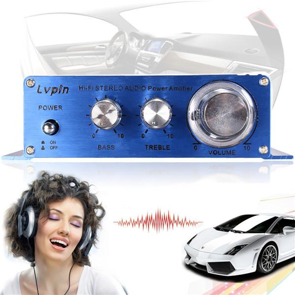 Автомобильный стерео усилитель 180W + 180W 2CH 12V MP3 CD