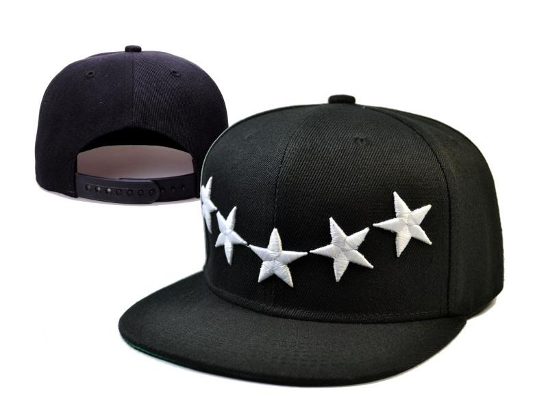 Black 40 OZ NYC Snapbacks Caps with 5 White Stars free shipping by China Post Air Mail snap backs hats adjustable cap(China (Mainland))