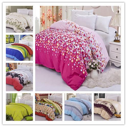 hot sale 2015 good quality Aloe cotton 1 pcs duvet cover a lot designes drop shipping(China (Mainland))