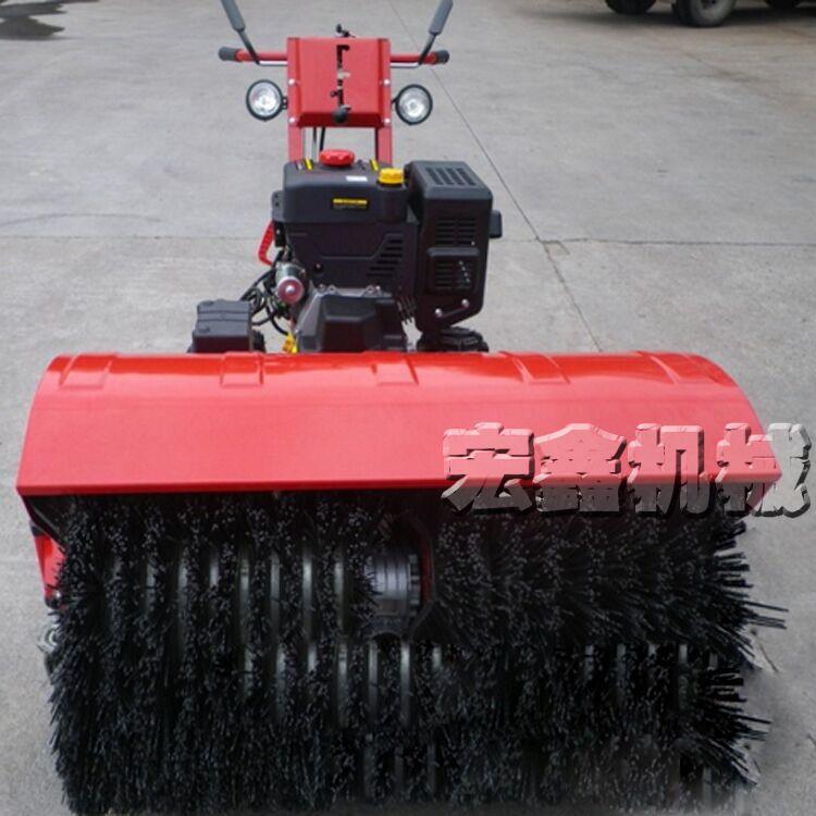 Push-type plow new self-propelled gasoline petrol snow blower brush Sweeper(China (Mainland))
