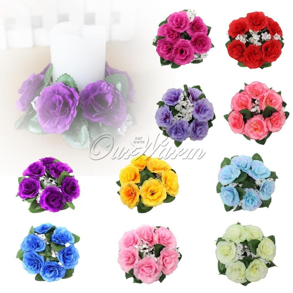 Floreros baratos para las piezas centrales de la boda