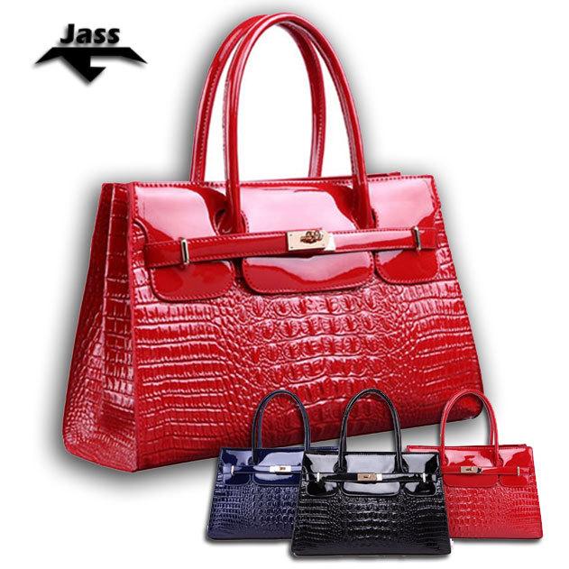 HOT Women's bags Designer Alligator Patent Leather women handbags Embossed fashion women bag paint women handbags(China (Mainland))