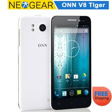 Original ONN V8 Tiger Slim HD Android Phone - 5 Inch, 1.5GHz Quad Core CPU, 1GB RAM, 16GB Memory, 13MP Camera(China (Mainland))