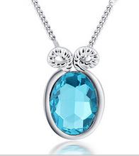 Fashion Jewelry Wholesale China 18K Gold Plated Crystal Rhinestone Necklace MG958(China (Mainland))