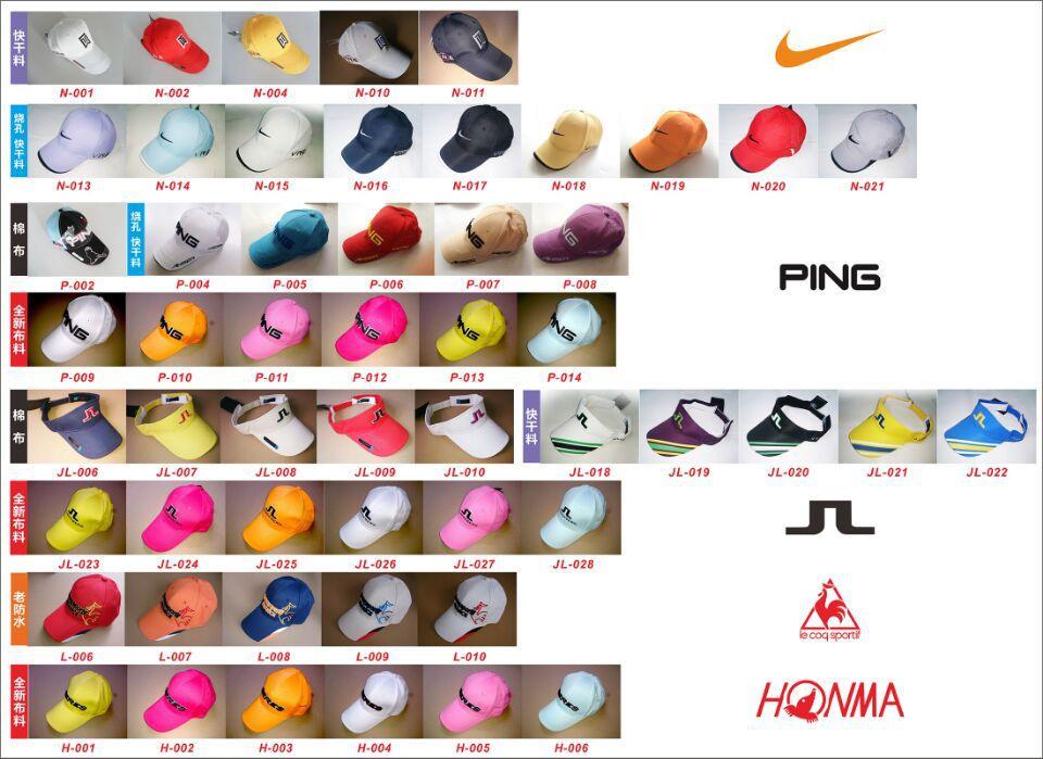Brand New Golf Caps Cotton Golf Sporting Cap Adjusting Size Model.004(China (Mainland))