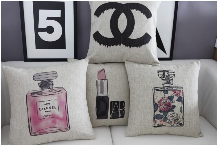 High quality brand bottle pillow cushion covers seat chair cushion cover /capa de almofada decorativas(China (Mainland))