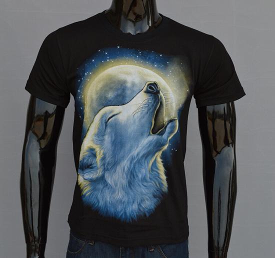 Fashion 2015 Summer Street Tops Men 3D Tshirts Animal Element Top Men's T-shirt Wolf Tee Mens T Shirt Outfit T-shirt G106-58(China (Mainland))