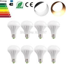Wholesale 8pcs/lot E27 7W Led Lamp Bulb SMD 2835 650lm LED Light Bulb Lampada Warm White Light Spotlight For Home Office(China (Mainland))