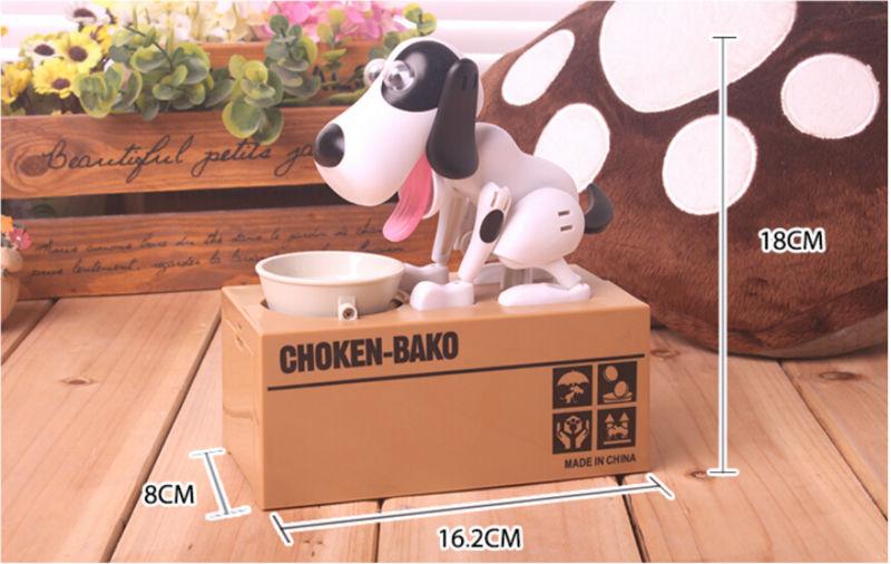Free Shipping Creative Dog and Monkey Electronic Piggy Bank, 7 Style Lovely Plastic Money Safe Money Box Donation Box for Kid(China (Mainland))