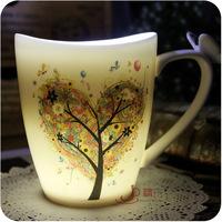 Ceramic cup crescendos marry lovers cup bone china coffee mug brief glass