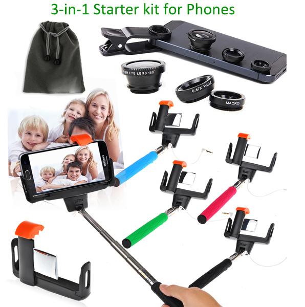 selfie kit for sony xperia z3 z2 z1 z3 compact z2 mini self portrait wire sel. Black Bedroom Furniture Sets. Home Design Ideas