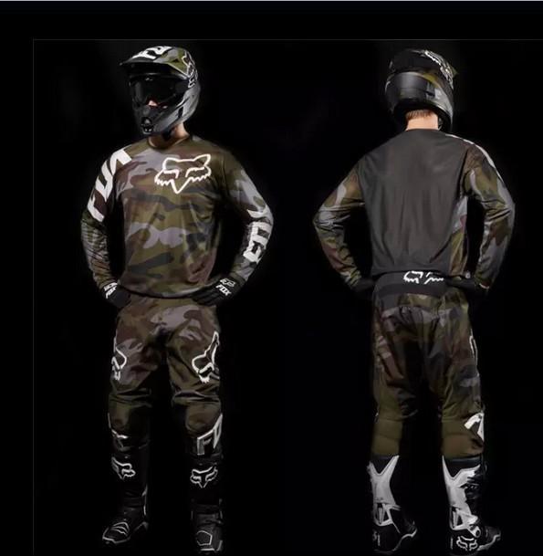 Free shipping pants shirt race motorcycle racing clothing shirt suits (mike motivation clothes pants + shirt) wholesale(China (Mainland))