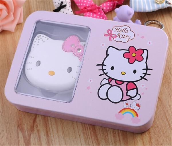 2015 Original Newest Hello kitty Cartoon Mobile phone for kids children Dual SIM standby Flip Fashion Russian cell phones(China (Mainland))