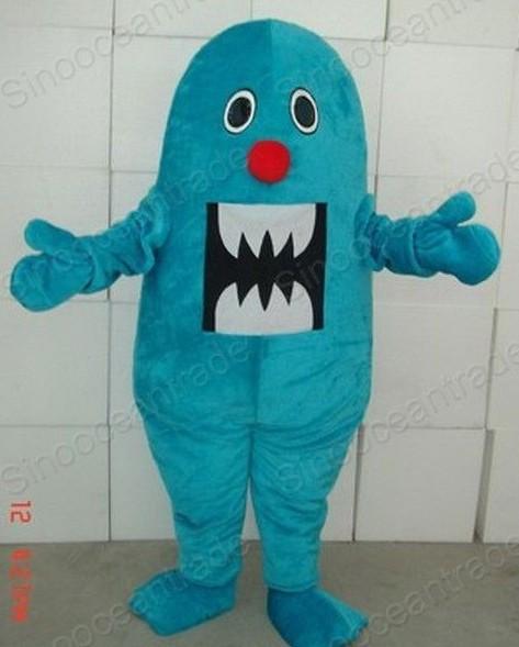 Giant blue shark sea animal Cartoon Adult Size Mascot Costume Fancy Dress Animal mascot costume free shipping(China (Mainland))