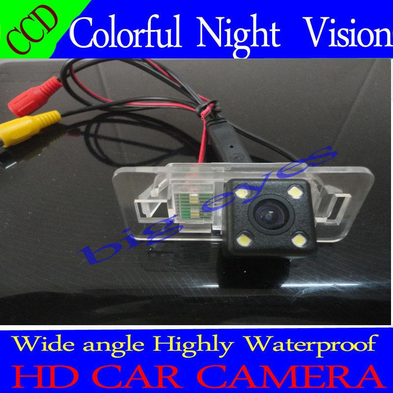 Night vision CCD car rear view camera backup parking camera for BMW 1 Series E82 3 Series E46 E90 E91 5 Series E39 E53 X3 X5 X6(China (Mainland))