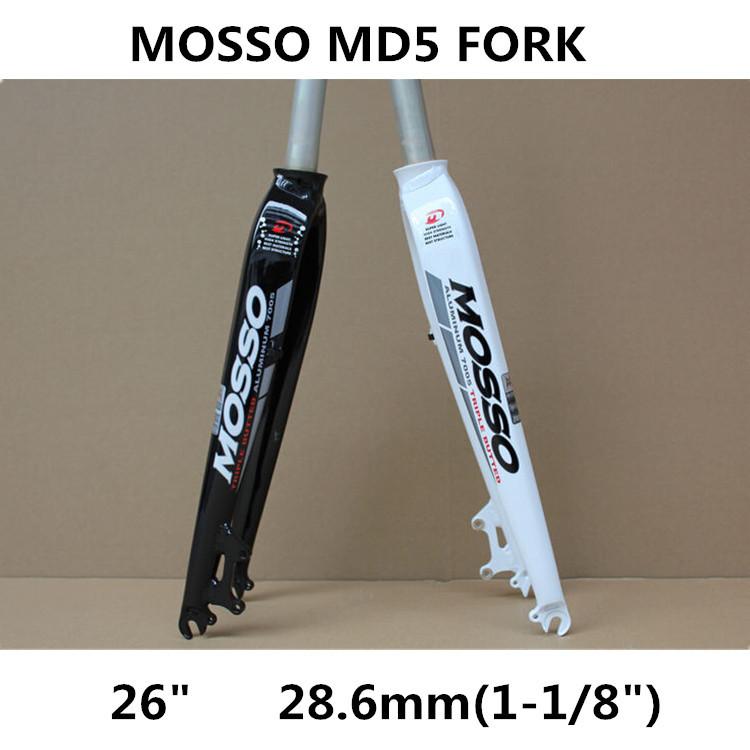 Вилка велосипедная Mosso MD5 MTB 26 28.6 MTB B168