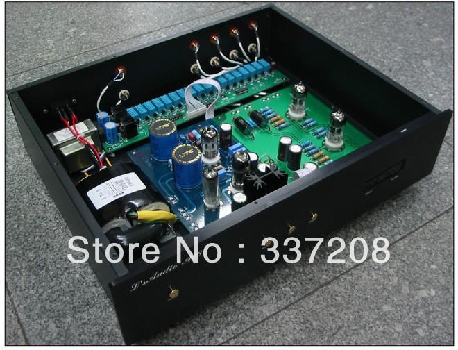 LITE Remote Version ---LS10 Vacuum tubes Preamp Base on AUDIO NOTE M7 #Li-45(China (Mainland))