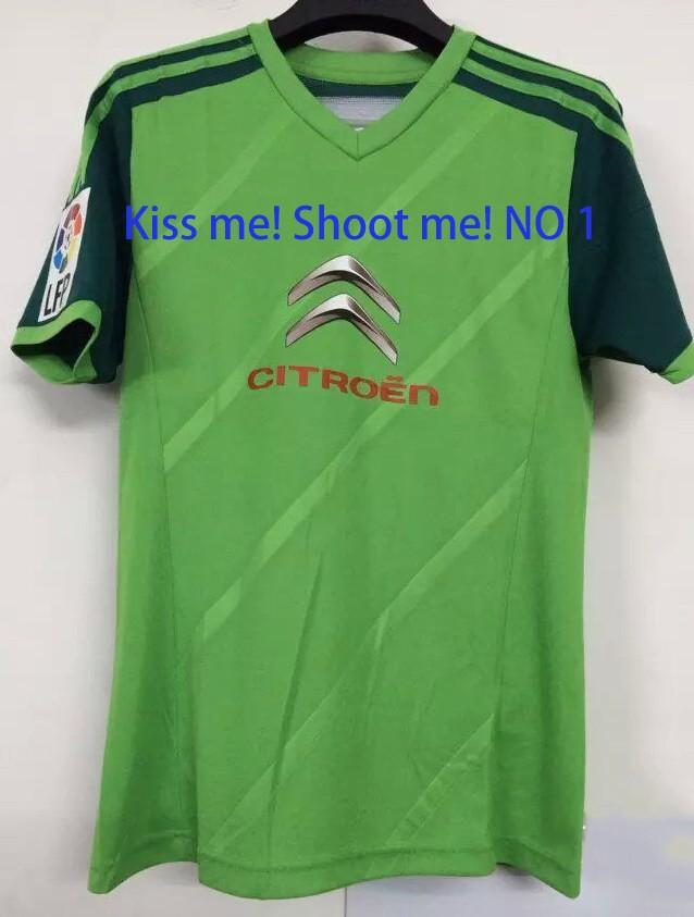 2015 Celta Vigo jerseys thai quality 14 15 Away green Nolito Lopez Oubina FONTAS Larrivey Alex soccer Camiseta(China (Mainland))