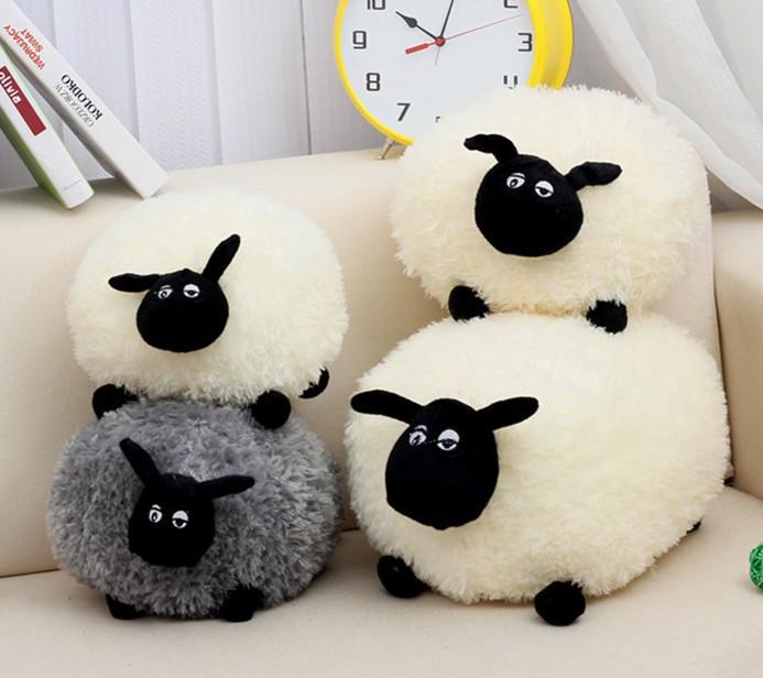 HOP QUALITY !2015 NEW 30cm Cute Shaun the sheep lamb kawaii plush toys stuffed animals juguete Christmas gift brinquedos meninas(China (Mainland))