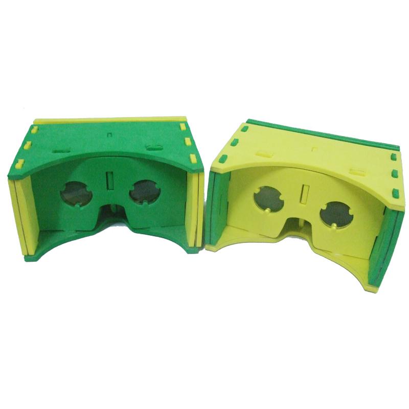 "Cool DIY Gadget New Soft Eva VR Viewer 3D IMAX Glasses Kit For 3.5-- 6"" Smartphone,EVA 3D Glasses(China (Mainland))"