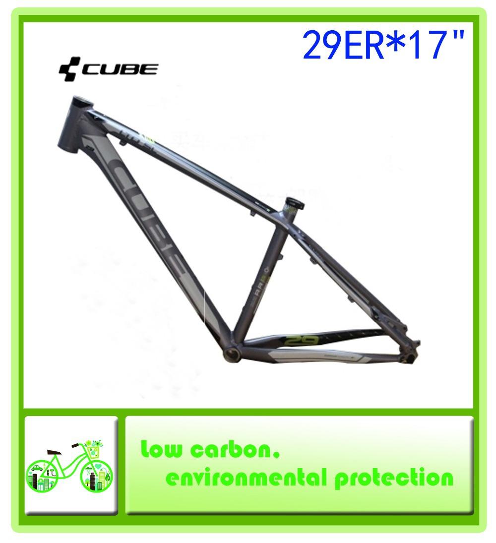 "The new CUBE LTD SL mountain bike frames / high quality aluminum 29ER * 17 ""MTB frame 1700g(China (Mainland))"